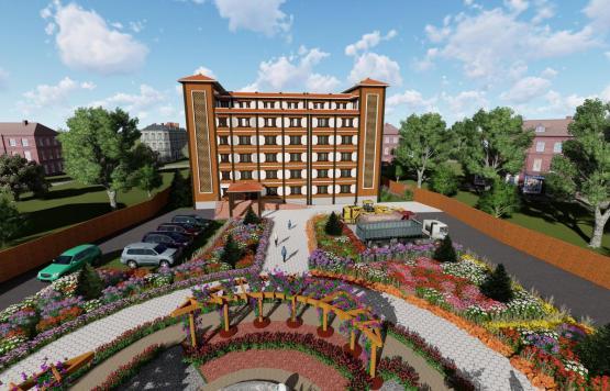 पाल्हिनन्दन गाउँपालिकाको प्रस्तावित मुख्य प्रसासनिक भवन